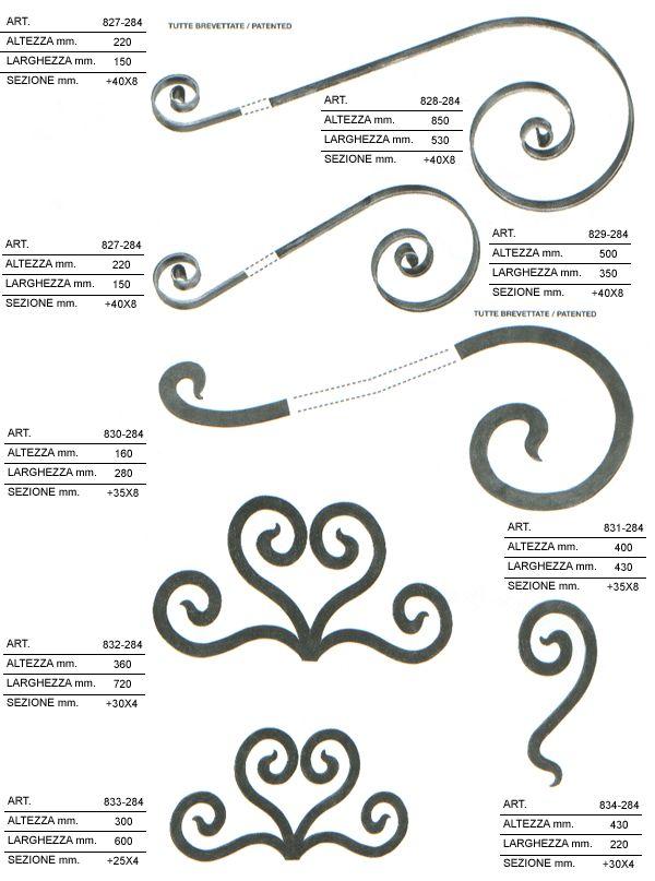Costruire page 3 terminali antivento per stufe a pellet for Decorazioni in ferro battuto