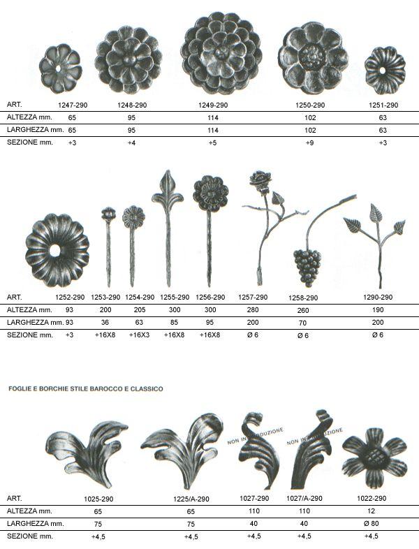 Fer bat prodotti vendita decorazioni in ferro battuto for Decorazioni in ferro battuto